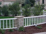 Decorative Fence - Colorado Springs Landscaping